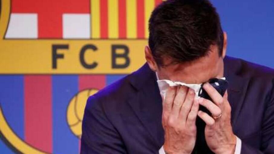 Camisa 10 do Barcelona pertenceu a Messi durante 13 anos