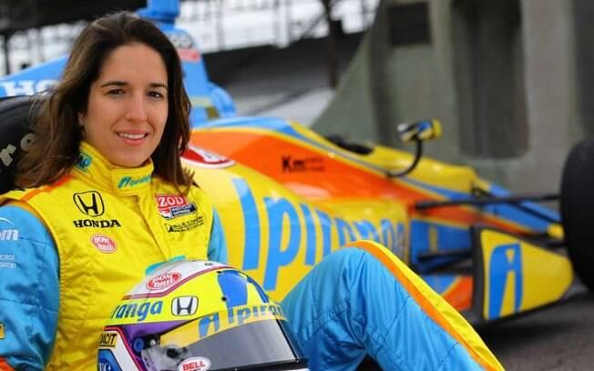 Bia foi a primeira mulher a correr em uma categoria top do automobilismo mundial