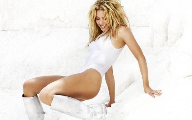 Shakira ficou em 11º lugar