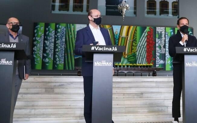 AO VIVO - Gestão Doria faz live sobre medidas de combate à pandemia