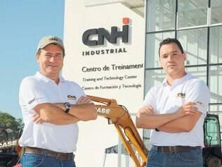 Otimismo. Roque Reis, vice-presidente e Carlos Franca, gerente de marketing, estão otimistas