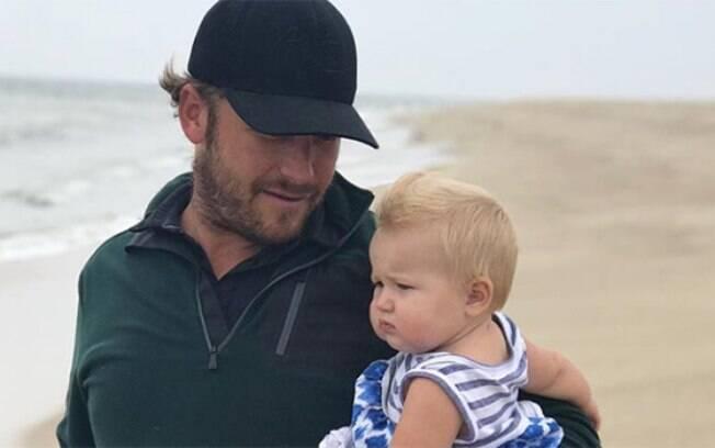 Bode Miller e sua filha Emmy