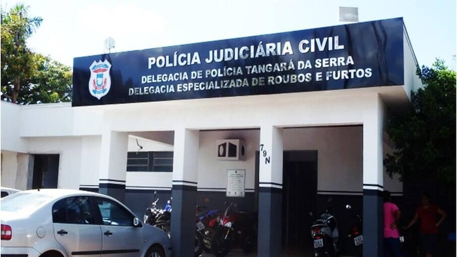 A mulher foi presa pela Polícia Civil em Tangará da Serra