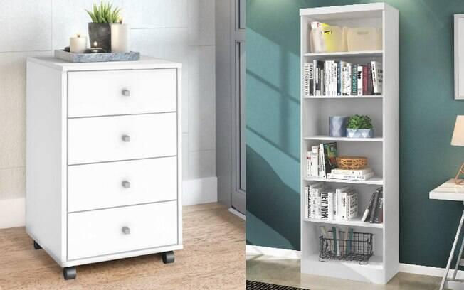 Os móveis multifuncionais são ótimas alternativas para ajudar na organização dos cômodos da casa – e listamos seis opções