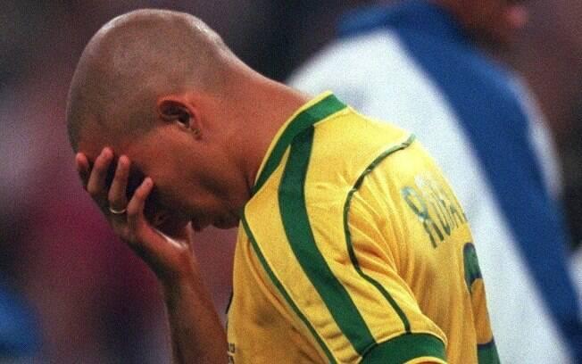 Atacante passou mal antes da final da Copa de  1998, mas entrou em campo mesmo assim