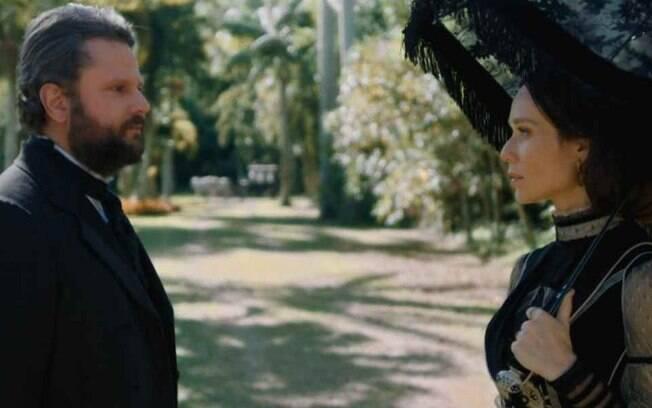 Nos Tempos do Imperador: Incontrolável, Pedro faz revelação safada para fisgar Condessa de Barral