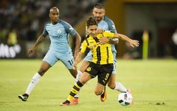 Nos pênaltis, Manchester City supera Borussia Dortmund em jogo amistoso