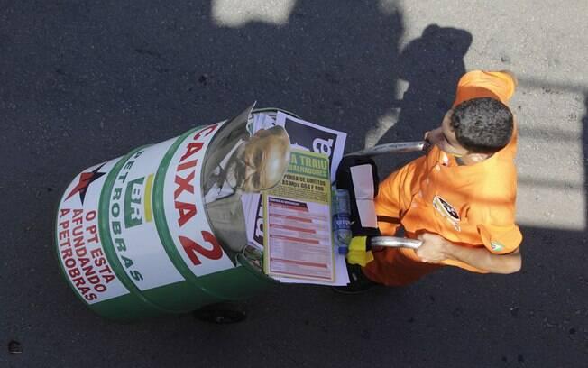 Brasília: maioria pediu a saída de Dilma e o fim da corrupção