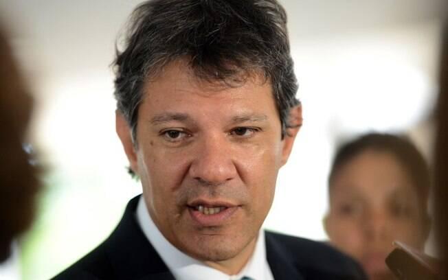 O atual prefeito Fernando Haddad é o candidato à prefeitura com índice mais alto de rejeição