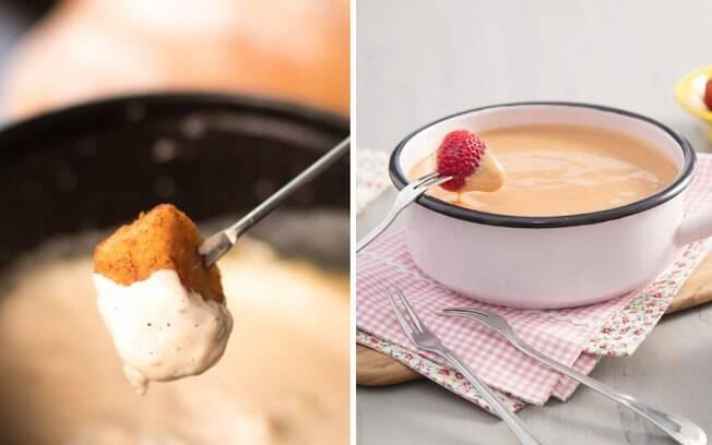 Aprender a fazer variações dos pratos clássicos é fundamental! Veja receitas de diferentes fondues