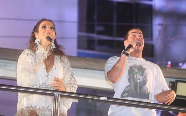 Ivete Sangalo e Thiago Martins