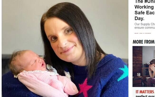 mulher com bebê