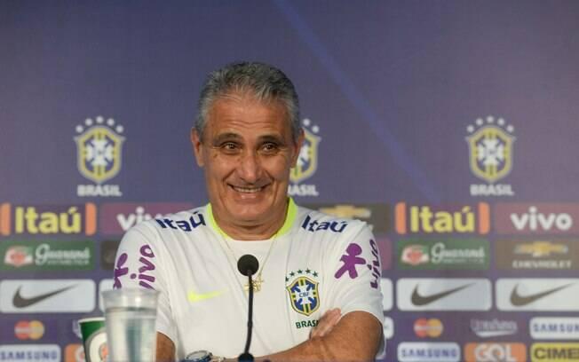 Tite está no comando da seleção brasileira desde o ano passado e foi indicado pela Fifa ao prêmio de melhor treinador