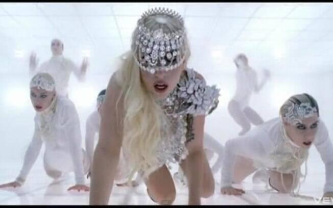 Lady Gaga consagrou sua imagem de artista