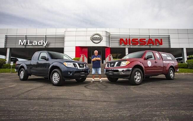 Nissan Frontier com 1,6 milhão de km mostra que, ao unir confiabilidade e bons cuidados, vai-se longe, literalmente