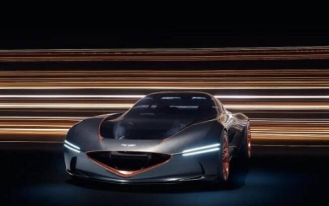 Marca de luxo da Hyundai, a Genesis foi uma das sensações do Salão de Nova York com o Essentia GT, um carro-conceito futurístico e elétrico