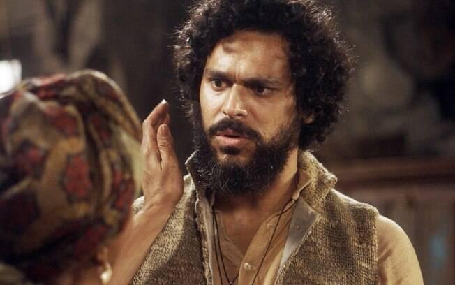 Matias fala para Sebastião que sabe que ele é seu pai