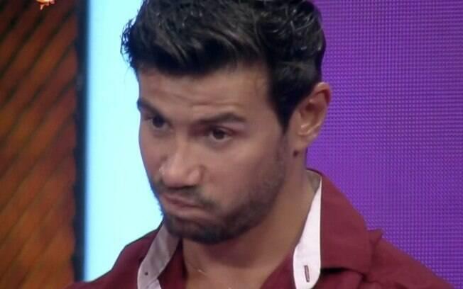 Mariano é o eliminado desta noite em 'A Fazenda 12'