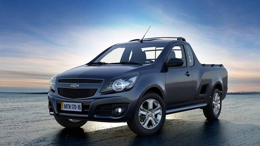 Chevrolet Montana: ainda é oferecida no Brasil, apenas na versão LS, a partir de R$ 78.790, conforme o site da marca