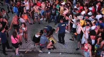Sete pessoas foram baleadas em blocos em São Paulo