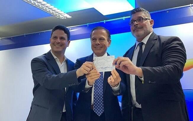 Filiação de Alexandre Frota não foi bem vista por caciques do PSDB