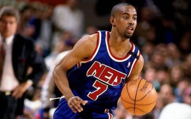 Vítima de derrame, Kenny Anderson estreou na NBA com o New Jersey Nets