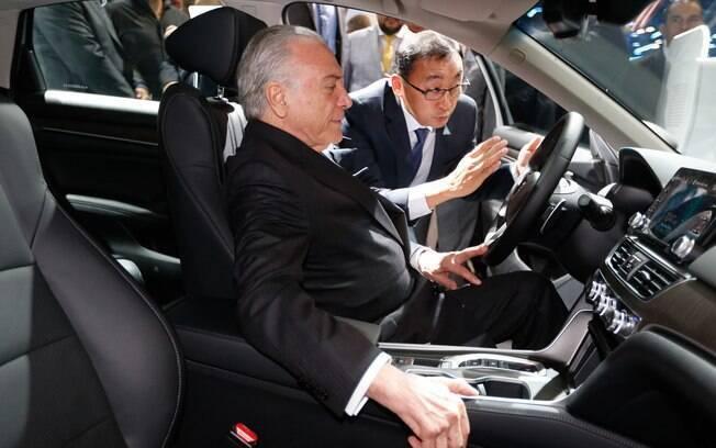 Presidente Michel Temer assinou decreto que concede benefício fiscal a montadoras