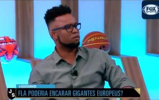 Ex-jogador Carlos Alberto polemizou no Fox Sports