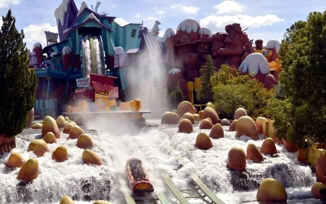 O Universal's Islands of Adventure foi votado como o melhor parque de diversões do mundo no TripAdvisor