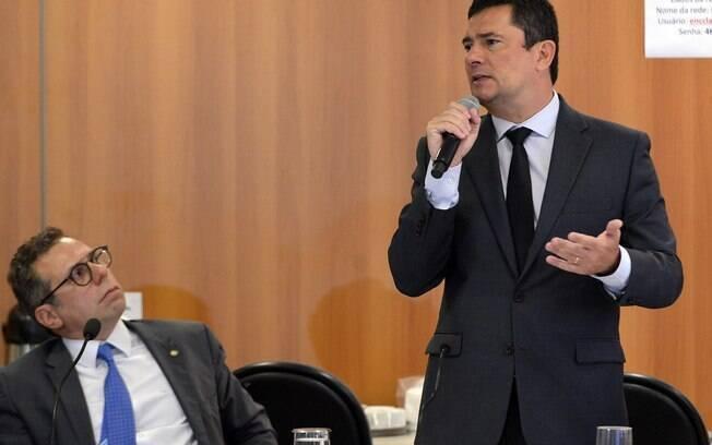 Sergio Moro se explicou nas redes sociais sobre uma palestra remunerada que deu em 2016