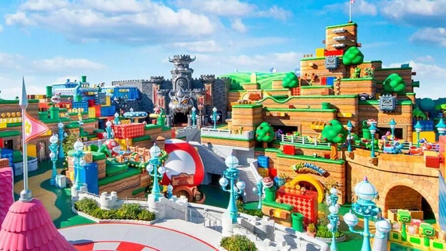 Super Nintendo World, parque temático no Japão