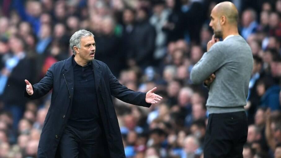 José Mourinho falou sobre relação com Guardiola