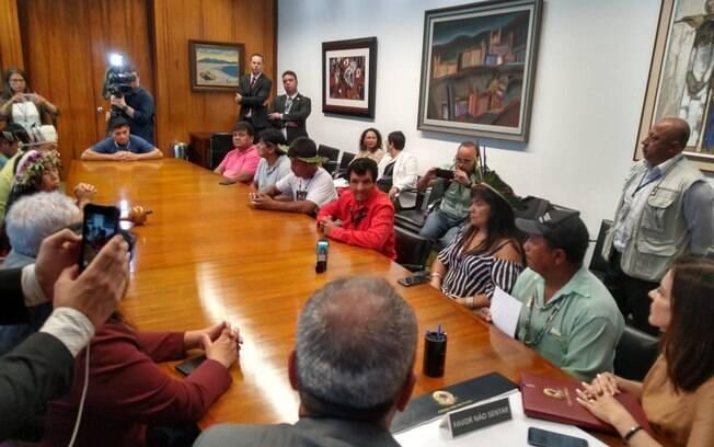 Indígenas protocolaram documento pedindo que PL seja devolvida ao Poder Executivo