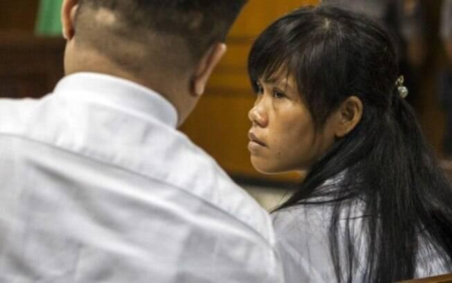 Mary foi considerada culpada por tentar traficar 2,6kg de heroína