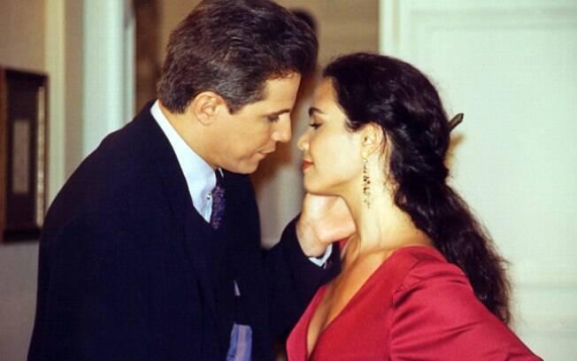 Edson Celulari e Tereza Seiblitz