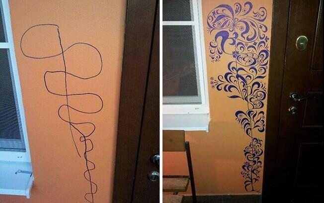 Seu pequeno Picasso está inspirado? Entre na dele e decore sua parede com originalidade