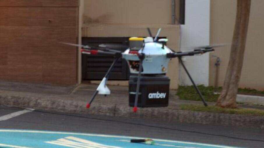 Drone da Ambev