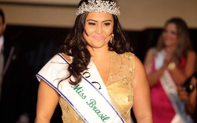Natural de Brasília, a vencedora do Miss Brasil Plus Size representou o estado do Mato Grosso do Sul