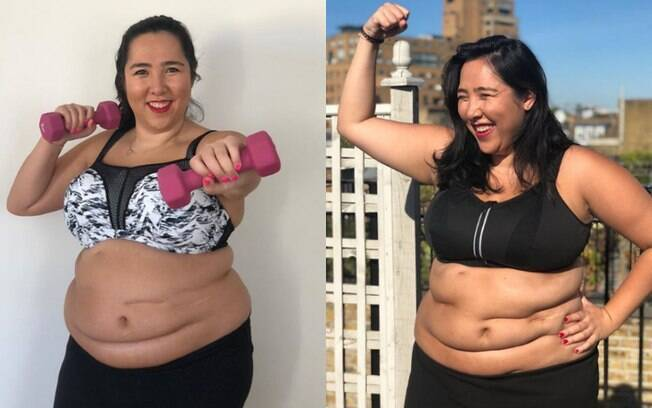 Michelle decidiu discutir como o 'fat shaming' acontece dentro das academias, se contrapondo ao movimento 'body positive'