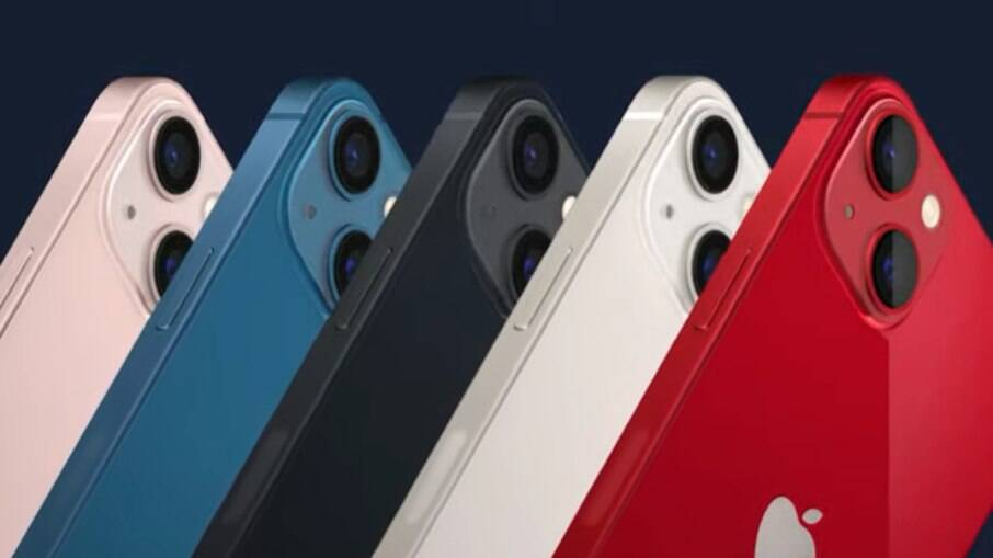 Cores do iPhone 13