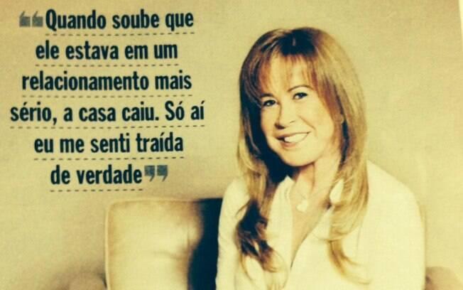 Zilu, por sua vez, deu entrevista para a revista 'Veja', onde falou sobre as traições do ex,...