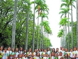 Orquestra Jovem.  Atualmente, projeto social atende 250 jovens