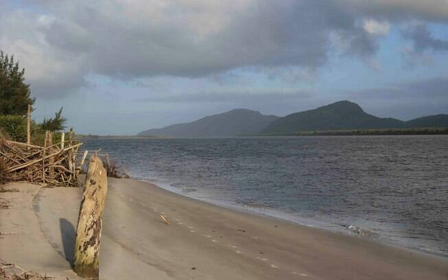 Ilha Comprida - vista para o Mar Pequeno