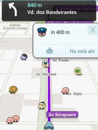 Aplicativo do Waze está disponível em português para iOS, Android e Windows Phone