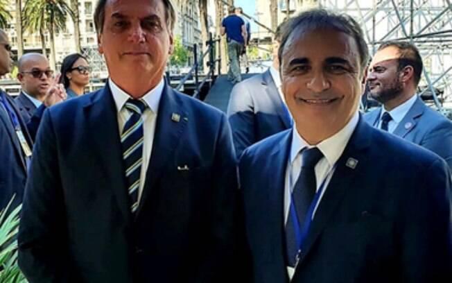 Governo da Itália promete consulado em Vitória em encontro com Bolsonaro no Uruguai