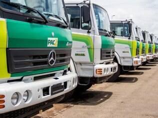 Máquinas serão usadas para conservar estradas vicinais