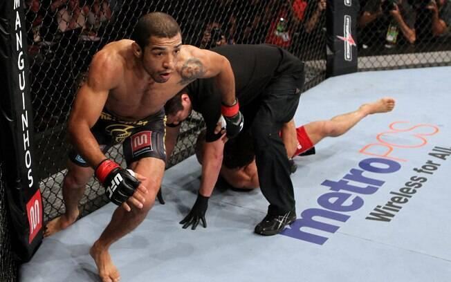 No UFC Rio II, José Aldo nocauteou Chad  Mendes no primeiro round