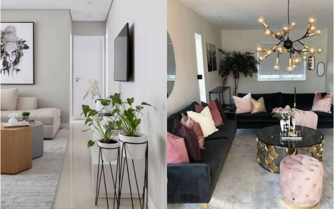 Arquitetas deram dicas de como reformar gastando pouco e sem quebrar a sala