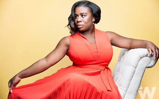 As melhores fotos de famosos de 2017: atriz de ''Orange is The New Black'', Uzo Aduba para o ''The Wrap''. Foto: Reprodução/The Wrap