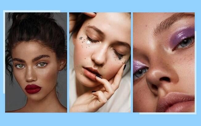 Maquiagem de Ano-Novo: 6 ideias com as principais tendncias de make